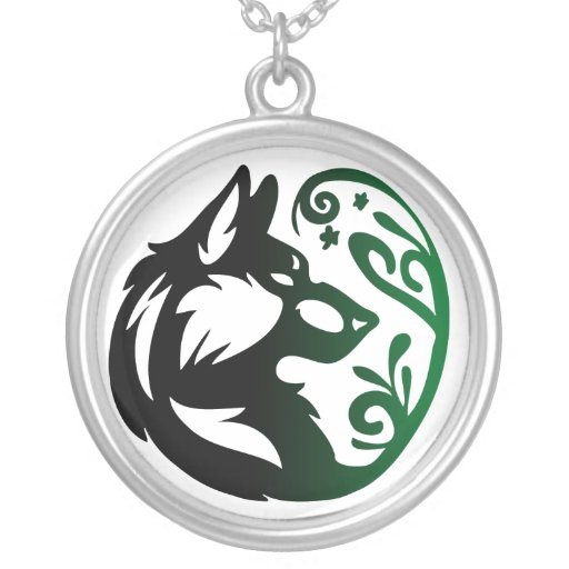 Tribal Earth Symbol Wolf Element