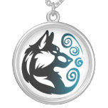 Wolf Element Tribal -Wind- Custom Necklace