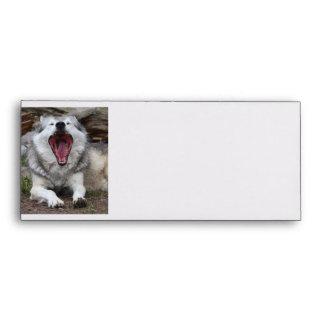 wolf envelope