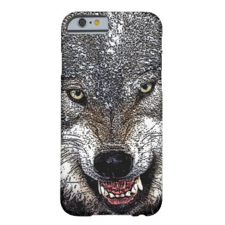 Wolf Eyes Artwork Barely There iPhone 6 Case