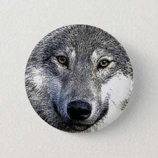Wolf Eyes Artwork Button
