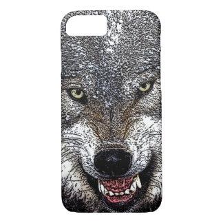 Wolf Eyes Artwork iPhone 7 Case