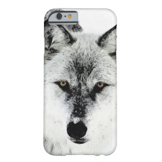 Wolf Eyes Barely There iPhone 6 Case