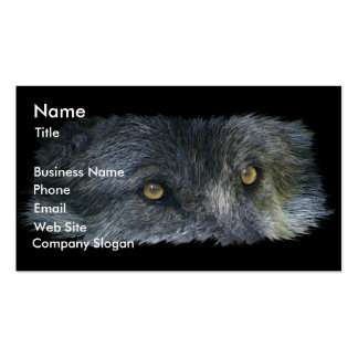 WOLF EYES Business Card or Profile Card