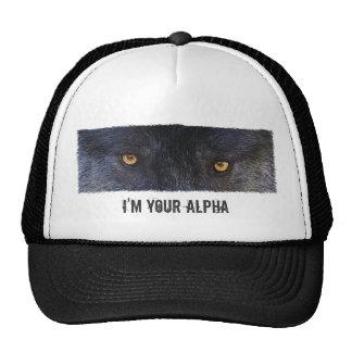 WOLF EYES Cap Trucker Hat