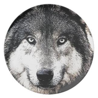 Wolf Eyes Dinner Plate