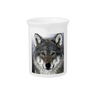 Wolf Eyes Drink Pitcher
