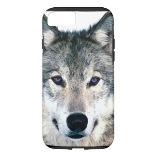 Wolf Eyes in woods wild nature animal iPhone 7 Case