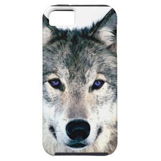 Wolf Eyes in woods wild nature animal Print iPhone SE/5/5s Case