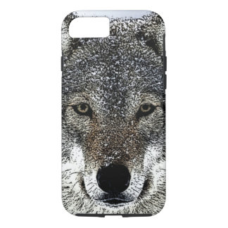 Wolf Eyes iPhone 8/7 Case