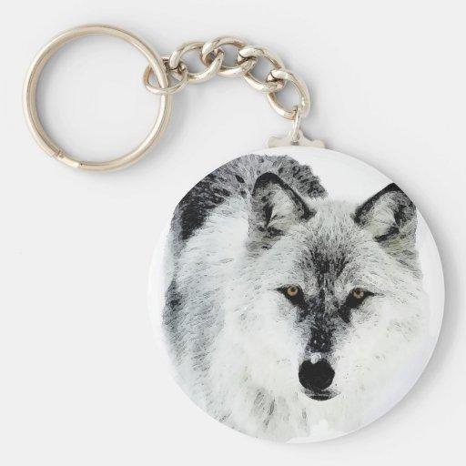 Wolf Eyes Keychains