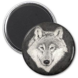 Wolf Eyes Magnet
