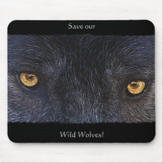 WOLF EYES Mousepad