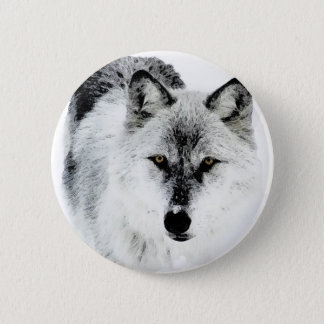 Wolf Eyes Pinback Button