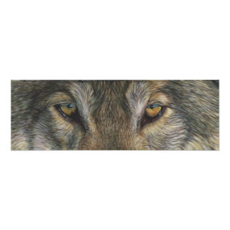 Wolf Eyes Poster