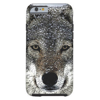 Wolf Eyes Tough iPhone 6 Case