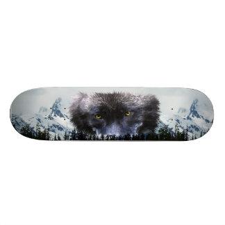 WOLF EYES Wildlife & Mountains Skateboards