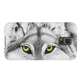 Wolf Eyes (yellow eyes) Galaxy S5 Cases