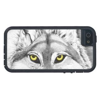 Wolf Eyes (yellow eyes) iPhone 5 Case
