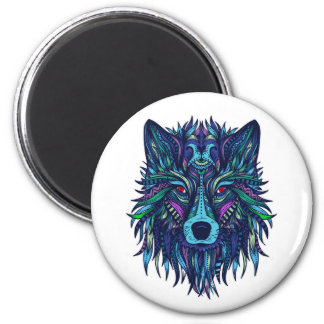 Wolf Face Magnet