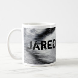 Wolf face personalized mug