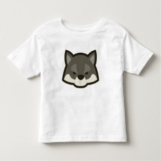 Wolf Face Toddler T-shirt