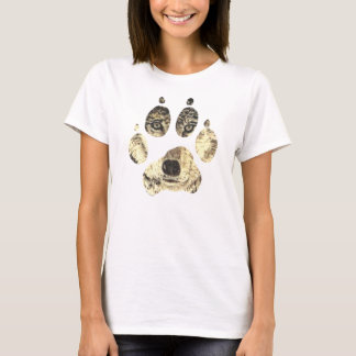 Wolf face womens tee