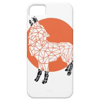 Wolf facet iPhone SE/5/5s case