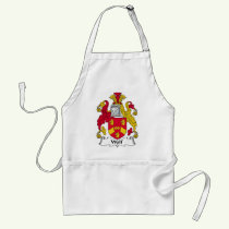 Wolf Family Crest Apron
