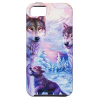 Wolf Family iPhone SE/5/5s Case