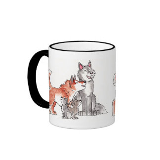 Wolf Family Mug