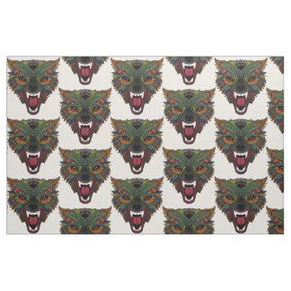 wolf fight flight ecru fabric