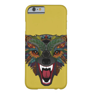 wolf fight flight ochre barely there iPhone 6 case