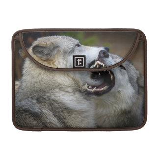 Wolf Fight Sleeve For MacBooks