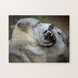 Wolf Fight Jigsaw Puzzles