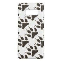 wolf footprint Case-Mate samsung galaxy s8 case