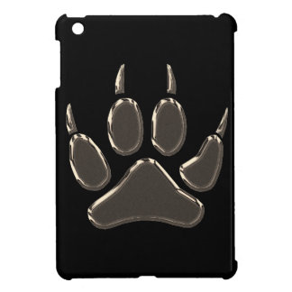 wolf footprint iPad mini cover