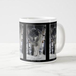 Wolf & Forest Jumbo Soup or Coffee Mug Extra Large Mugs