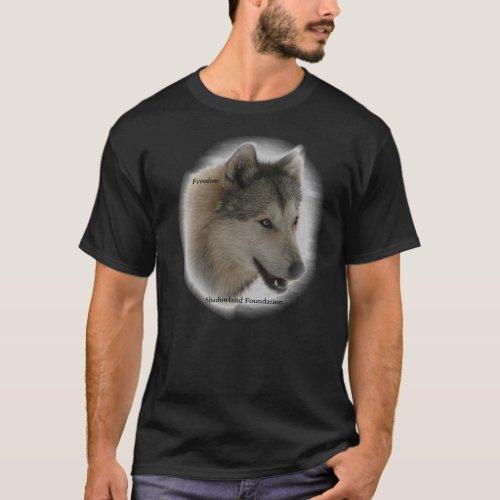Wolf Freedom Basic Dark T_Shirt