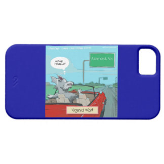 Wolf From Virginia iPhone 5/5S Funny Case