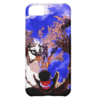 Wolf Full Moon Cover For iPhone 5C