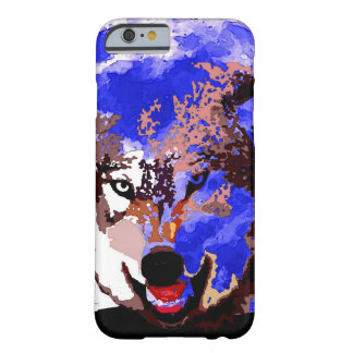 Wolf & Full Moon iPhone 6 Case
