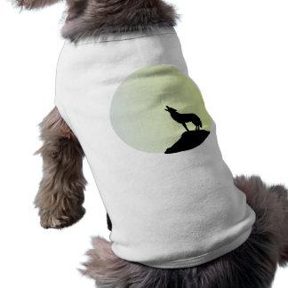 wolf full moon shirt