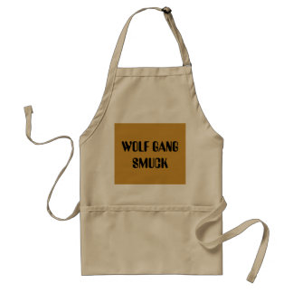 WOLF GANG SMUCK APRONS
