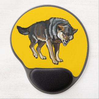 wolf gel mouse pad
