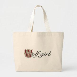 Wolf Girl Canvas Bag