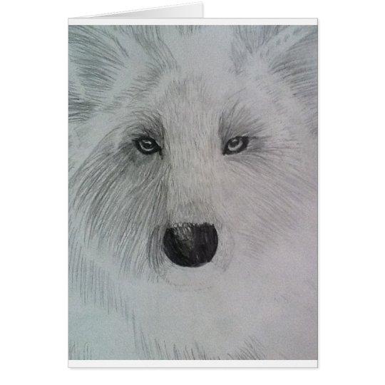Wolf glare card