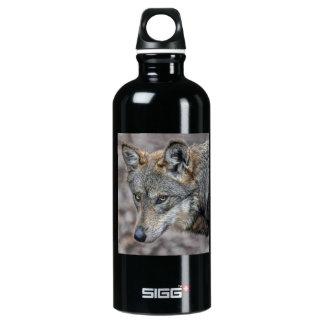 Wolf Glimpse Close Up SIGG Traveler 0.6L Water Bottle