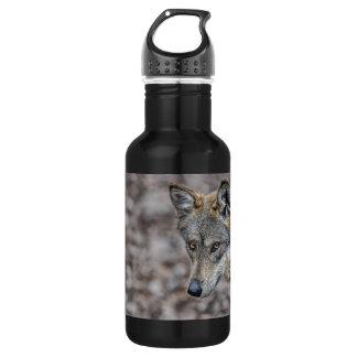 Wolf Glimpse 18oz Water Bottle