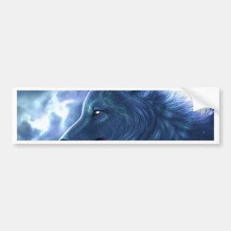 Wolf Guardian Bumper Sticker